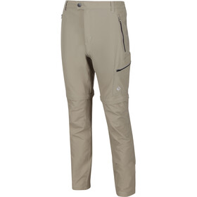 Regatta Highton Stretch Pantalones Zip-Off Hombre, parchment